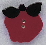 86227 - Large Apple 1in x 1in - 1 per pkg